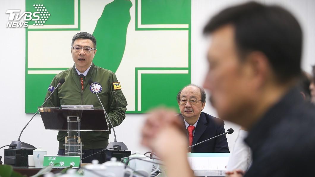 圖/中央社 卓榮泰:初選嚴守黨務中立 集體動作到此為止