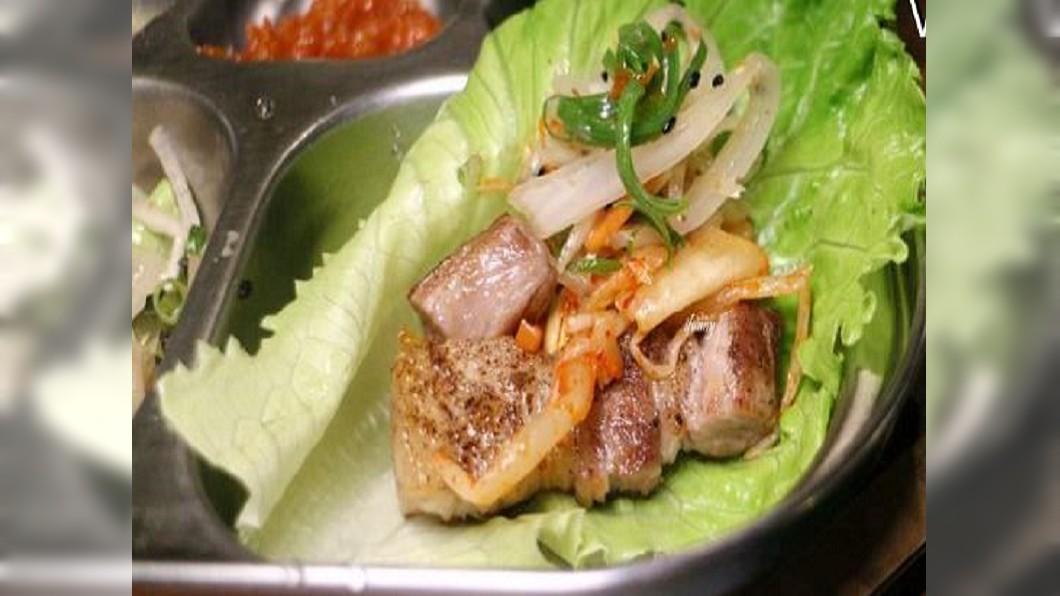 圖/翻攝自ifunny 艾方妮的遊樂場  用生菜包豬排! 韓排隊名店把饕客餵胖了