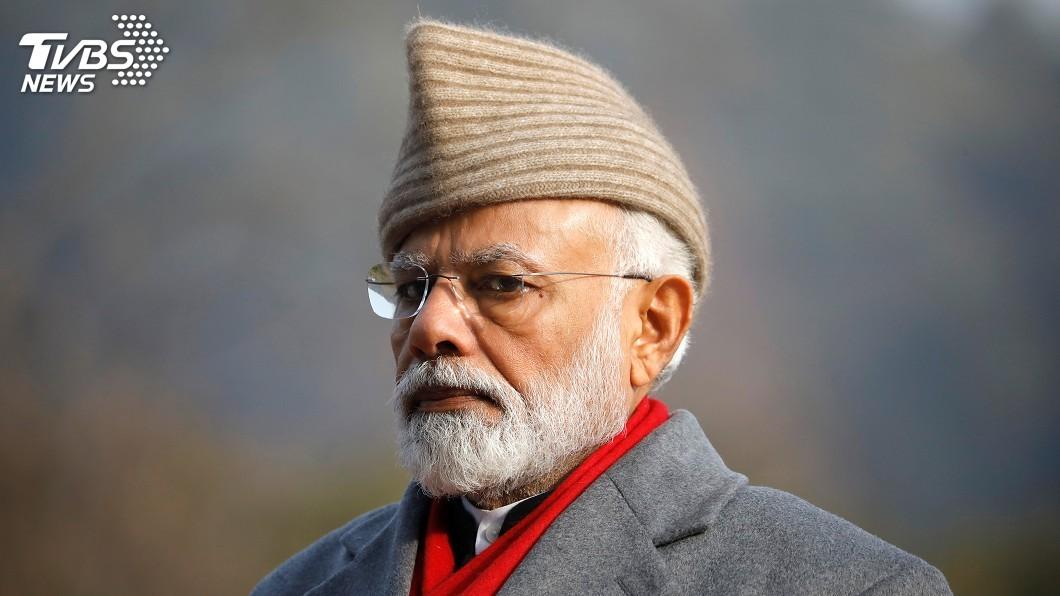 圖/達志影像路透社 印度大選朝野政黨差距拉近 莫迪聲望仍超前
