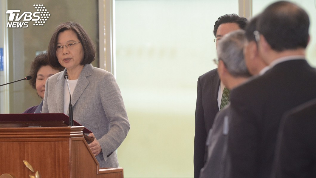 圖/中央社 海洋民主啟程 蔡英文:全力以赴讓台灣發光