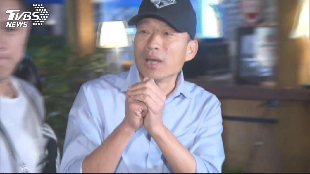 圖/TVBS 率團赴港澳深廈交流 韓國瑜預定28日返台