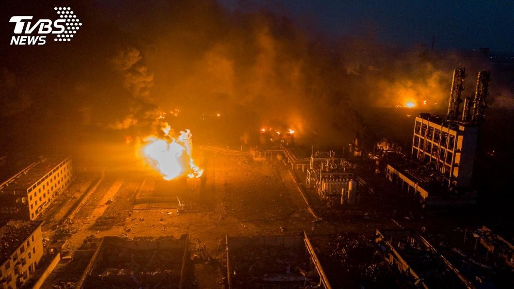 圖/達志影像路透社 化工廠大爆炸! 一夜44人慘死