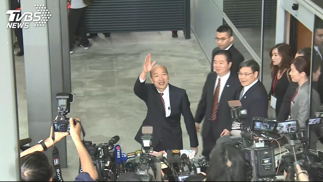 圖/TVBS 韓國瑜將見劉結一 陸委會:收到高市府申請