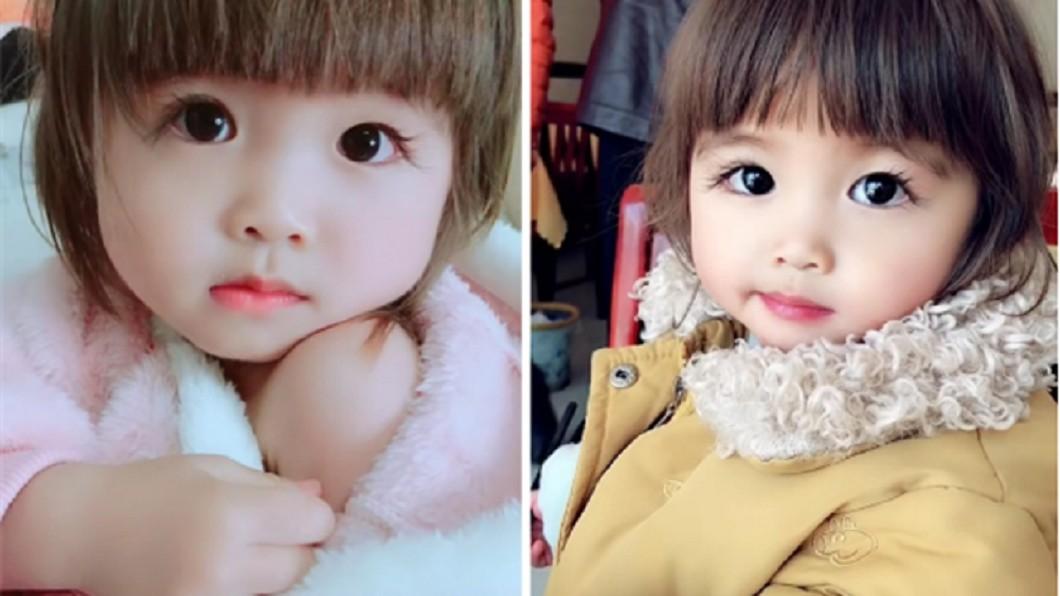 圖/搜狐 2歲娃「3cm逆天睫毛」模樣萌翻 網驚喊:娘胎整形?
