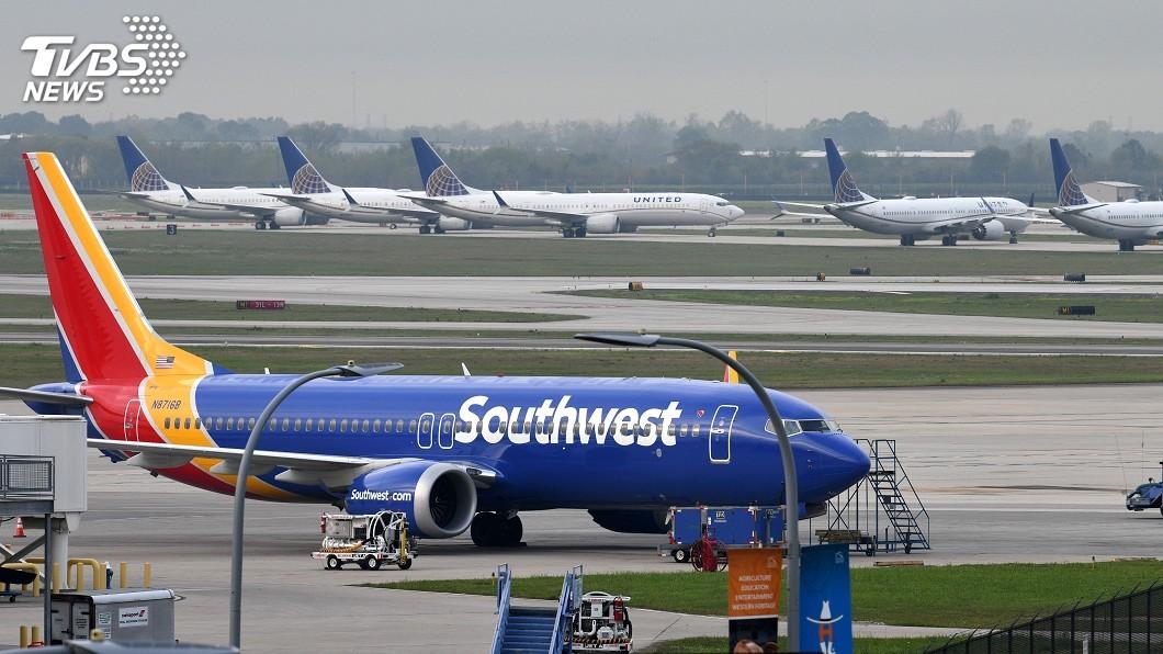 圖/達志影像路透社 波音為737MAX軟體更新 西南航空規定機師上課