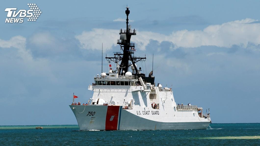 圖/達志影像路透社 快訊/一月內2次 美軍艦週日再穿越台灣海峽