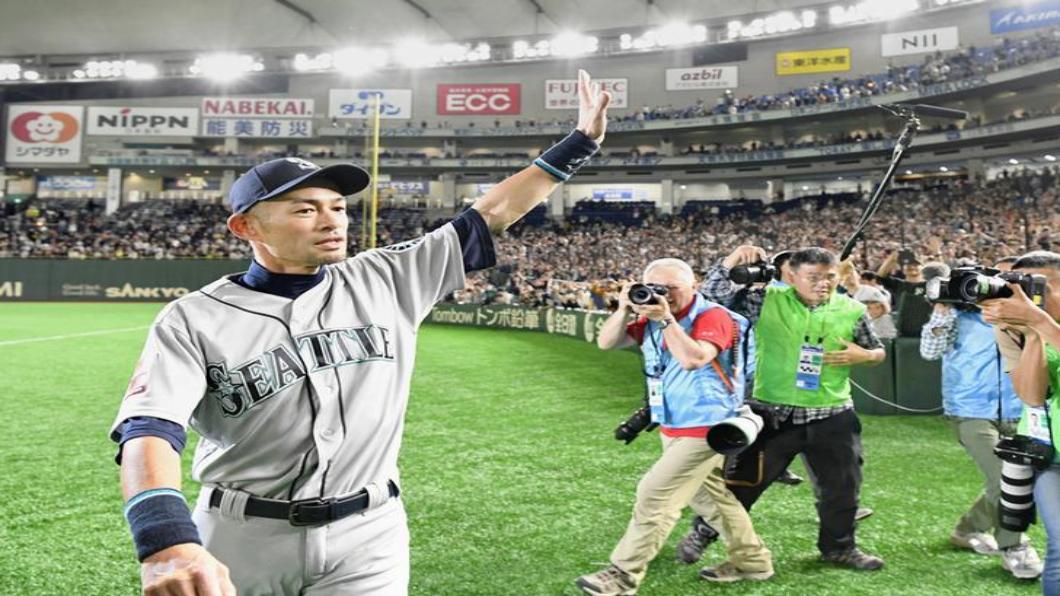 圖/達志影像路透 震驚美日職棒 鈴木一朗結束27年球涯