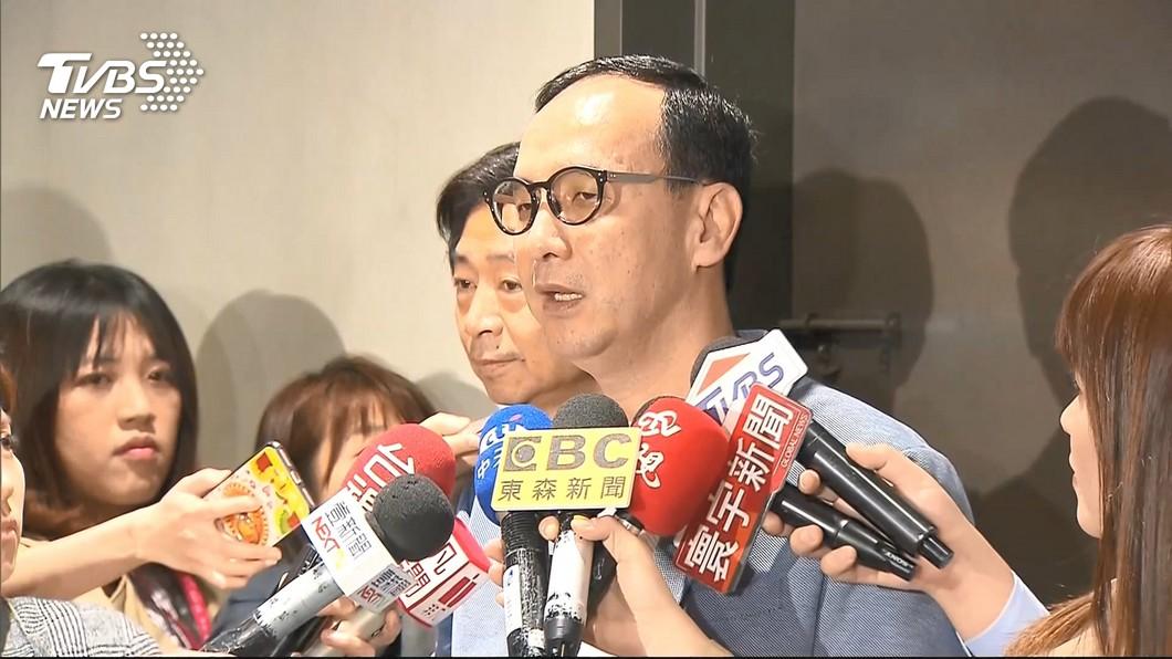 圖/TVBS 初選對立嚴重 朱立倫:憂國民黨會分裂