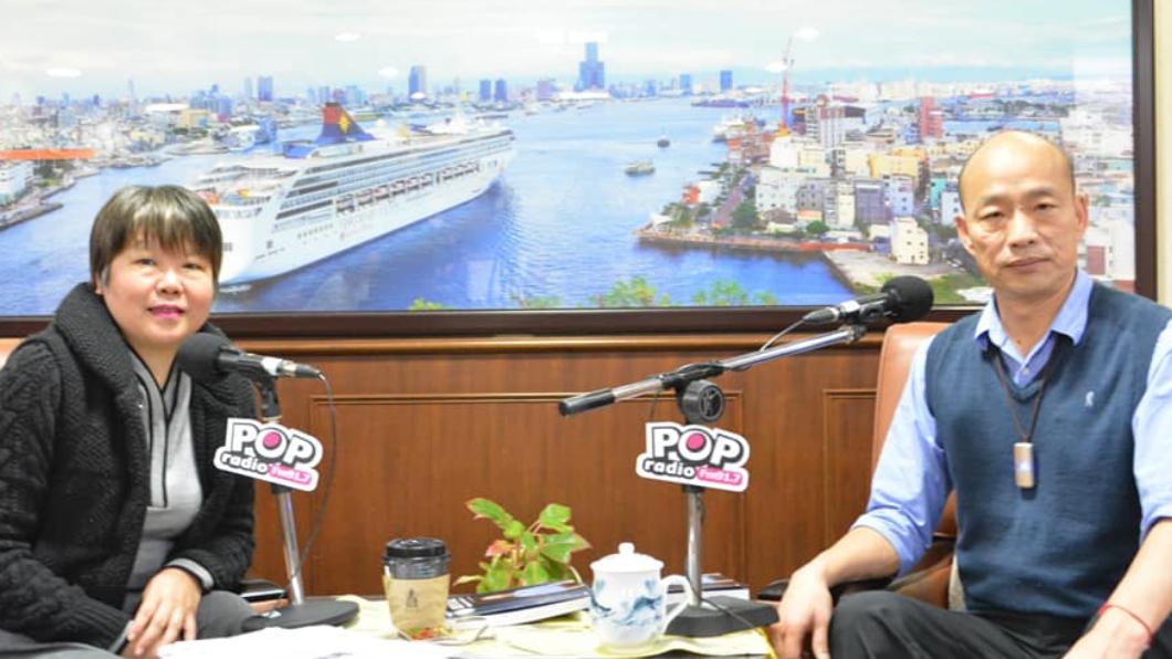韓國瑜競選辦公室對黃光芹提告妨害名譽(左)。翻攝/黃光芹臉書 韓辦提告7條妨害名譽! 黃光芹沒在怕:不會把筆停下