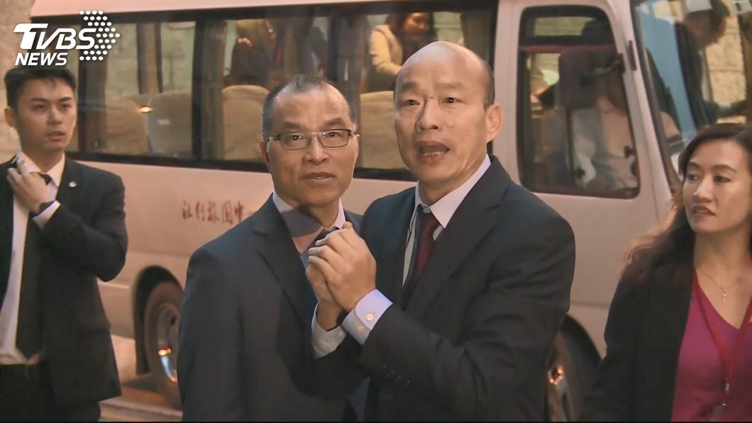 圖/TVBS 和澳門中聯辦主任晚宴 韓國瑜:客隨主便