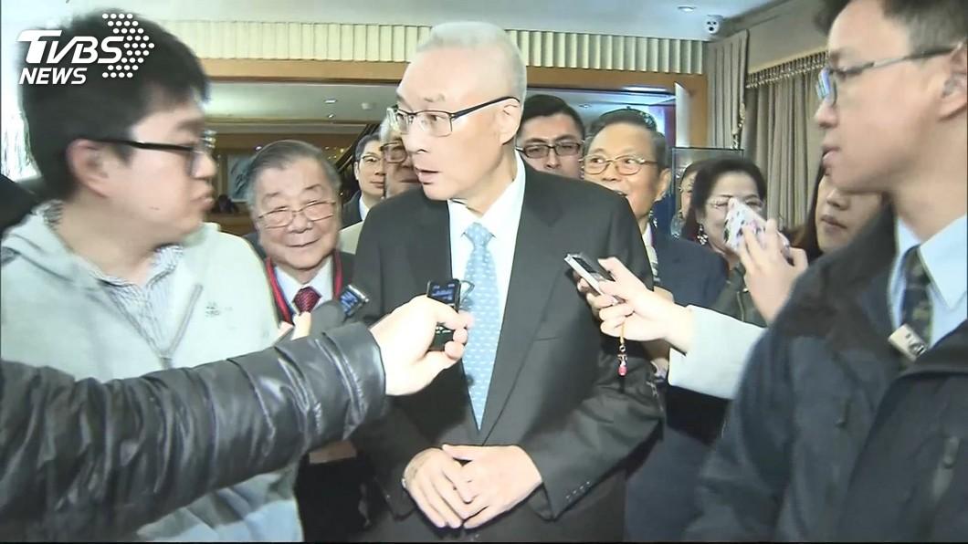 圖/TVBS 決定了!吳敦義擬力拱韓國瑜初選 李佳芬可補選市長