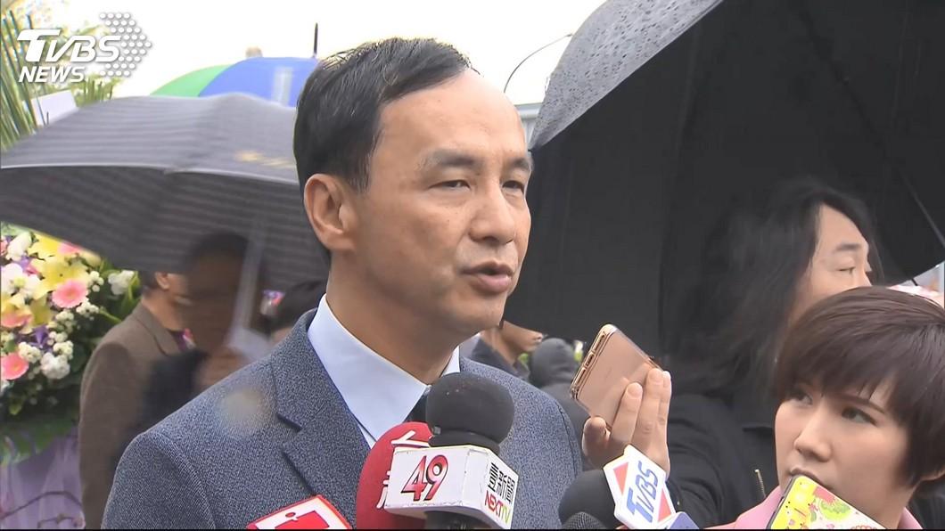 新北市前市長朱立倫。圖/TVBS 承諾執行死刑!廢死盟嗆朱「最不用功」:大選輸定了