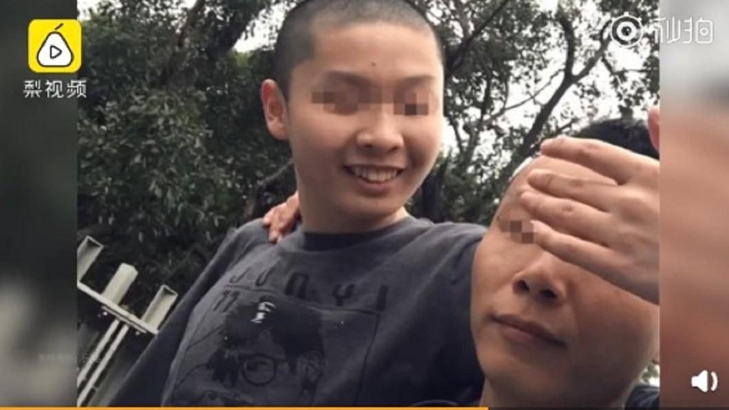 圖/翻攝自《微博》 單親爸意外猝死 留給自閉兒「10條短信」惹哭網友