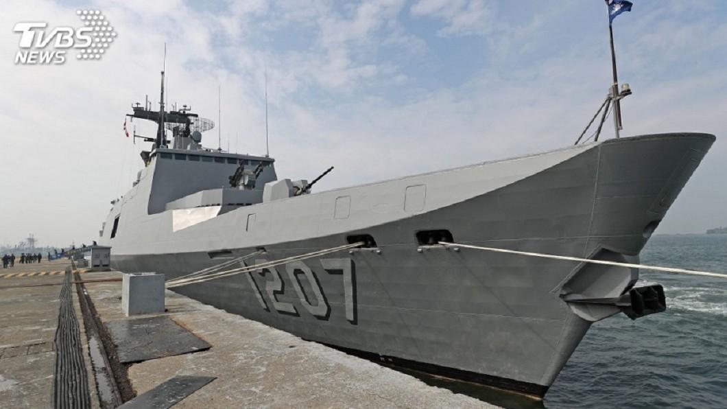 PFG-1207武昌軍艦。圖/中央社 武昌軍艦士兵接連摔成輕重傷 一人恐半身不遂