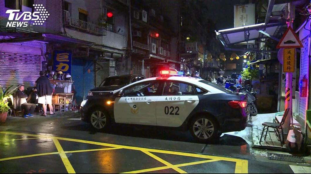圖/TVBS 差21歲姐弟戀失和 疑男友殺女友後自殘全身血命危