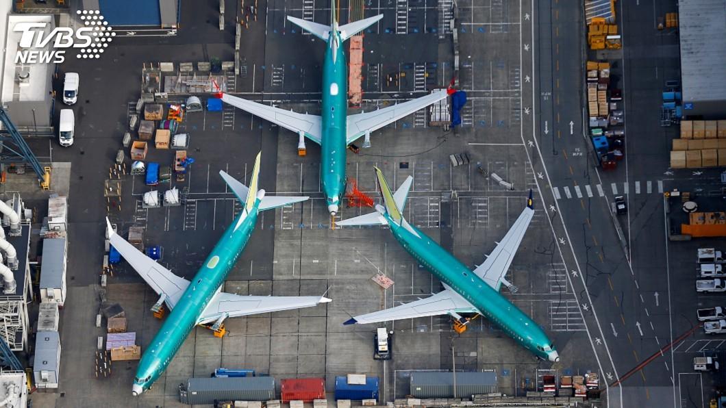 圖/達志影像路透社 美航停飛波音737 MAX 延長至4月24日