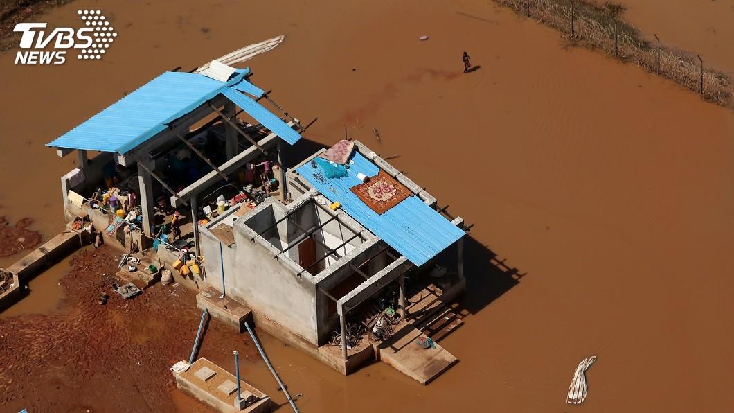 圖/達志影像路透社 非洲3國遭氣旋肆虐 霍亂瘧疾成倖存者威脅