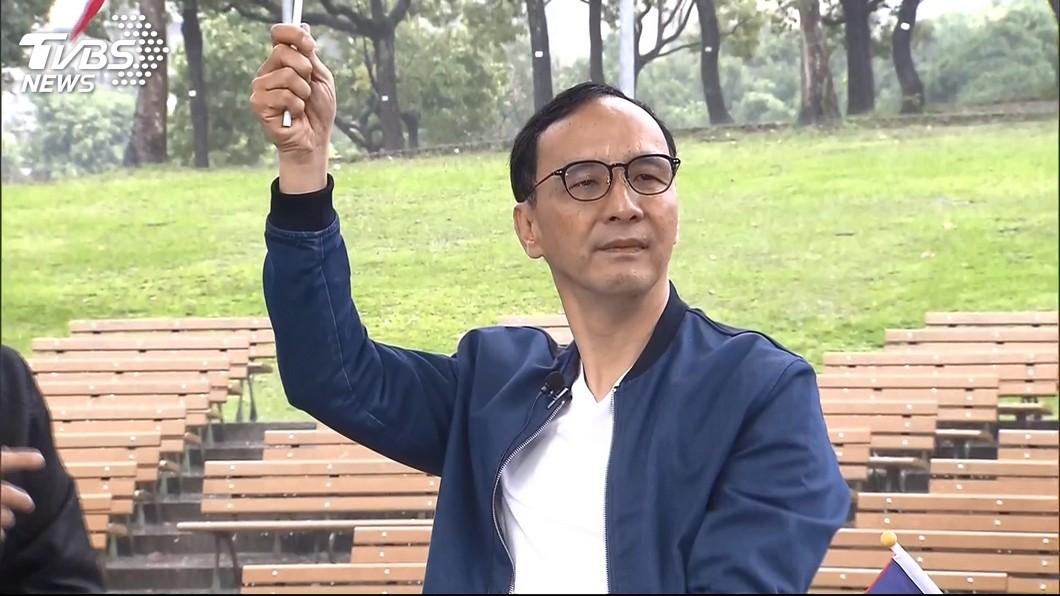 圖/TVBS 藍初選民調疑外流 朱:監聽紀錄應只是幾通電話