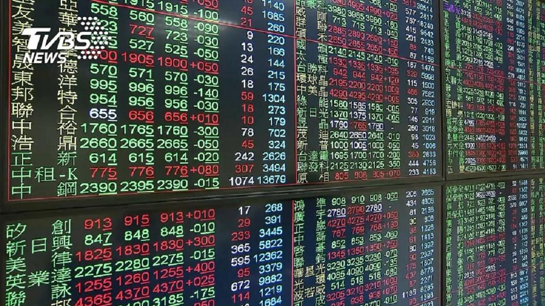 (圖/中央社資料照) 台積電股價連3天下挫 台股萬六得而復失