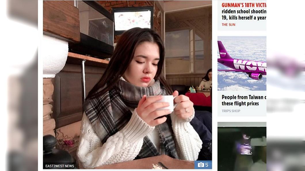 俄羅斯一名15歲少女不聽親友勸阻,堅持要在鐵軌上自拍,不料隨即被火車撞上輾斃。(圖/翻攝自太陽報)