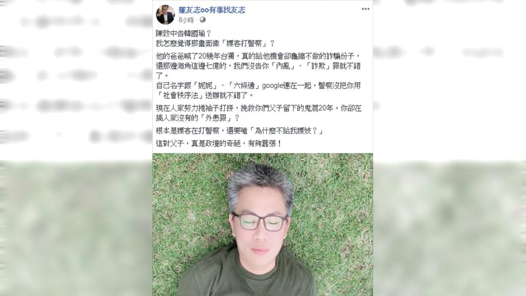 圖/翻攝羅友志oo有事找友志臉書