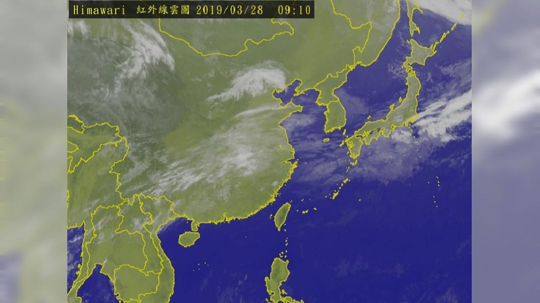 圖/翻攝自中央氣象局 好天氣掰!明變天「週末剩14度」 這張圖秒懂未來天氣