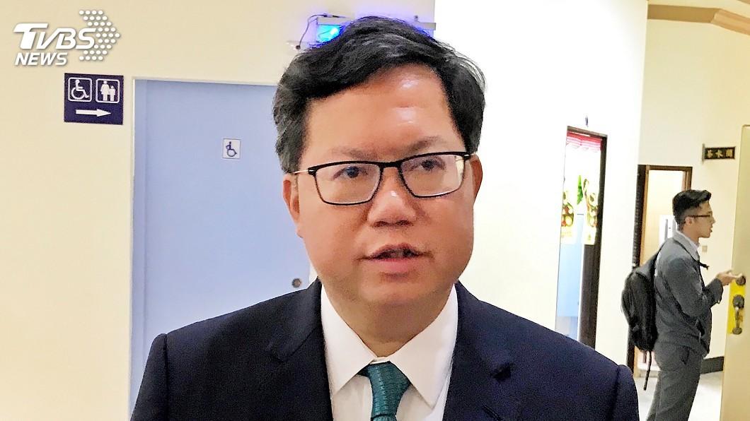 圖/中央社 六都首長民調最高 鄭文燦:自己跟市民沒距離