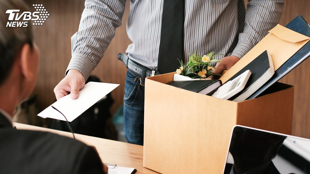 示意圖/TVBS 離職就像是重新投胎 重要的是找到下一份好工作