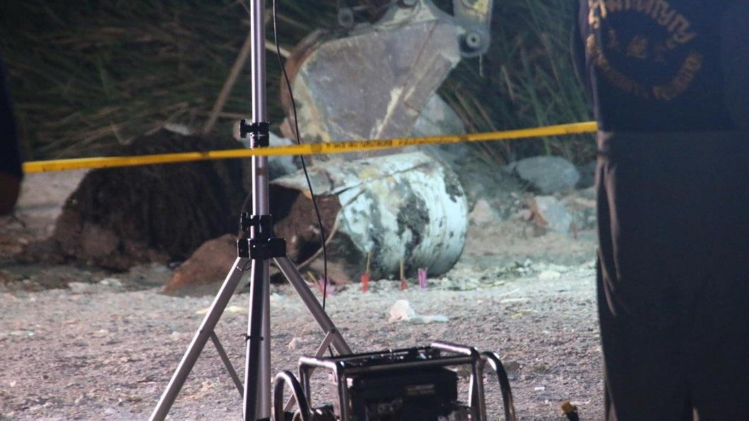 泰國曼谷日前發生一起駭人聽聞的水泥封屍案。(圖/翻攝自臉書) 上班後突失蹤…修車師傅被水泥封油桶 屍體變形散腐臭