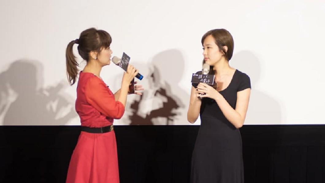 韓冰今(28日)出席電影記者會。圖/翻攝韓冰臉書