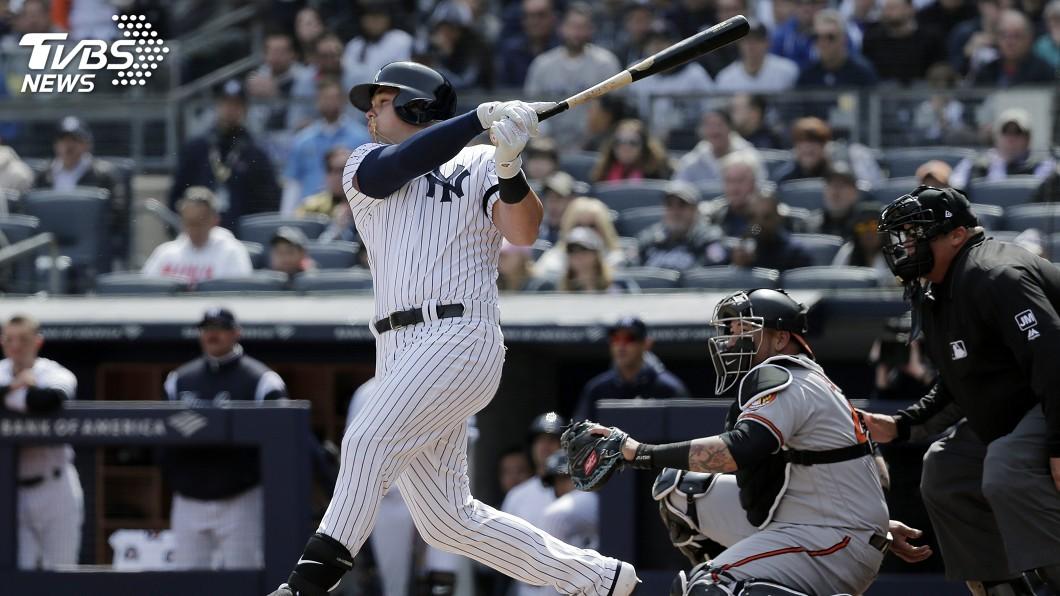 圖/達志影像美聯社 MLB開幕戰取勝 洋基、大都會雙雙首局開砲下馬威