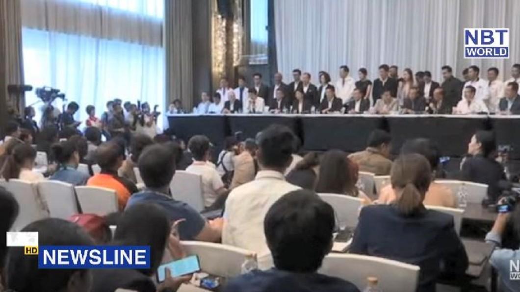 圖/翻攝自NBT WORLD YouTube 親軍方政黨拿下最多票 泰在野黨質疑作票