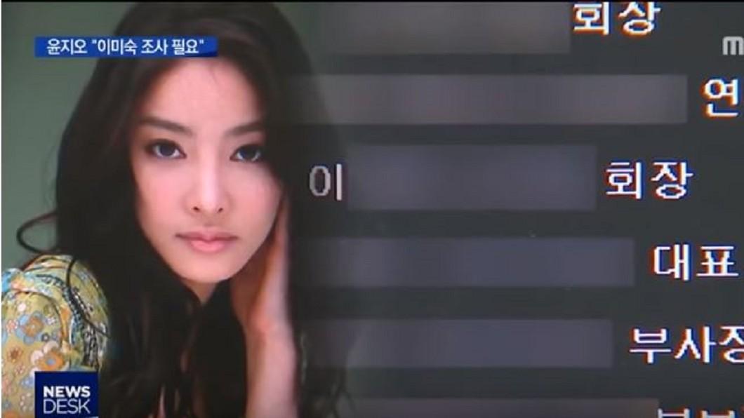 圖/翻攝自MBCNEWS YouTube  南韓重查張紫妍案 「陪睡風波」再扯六女星