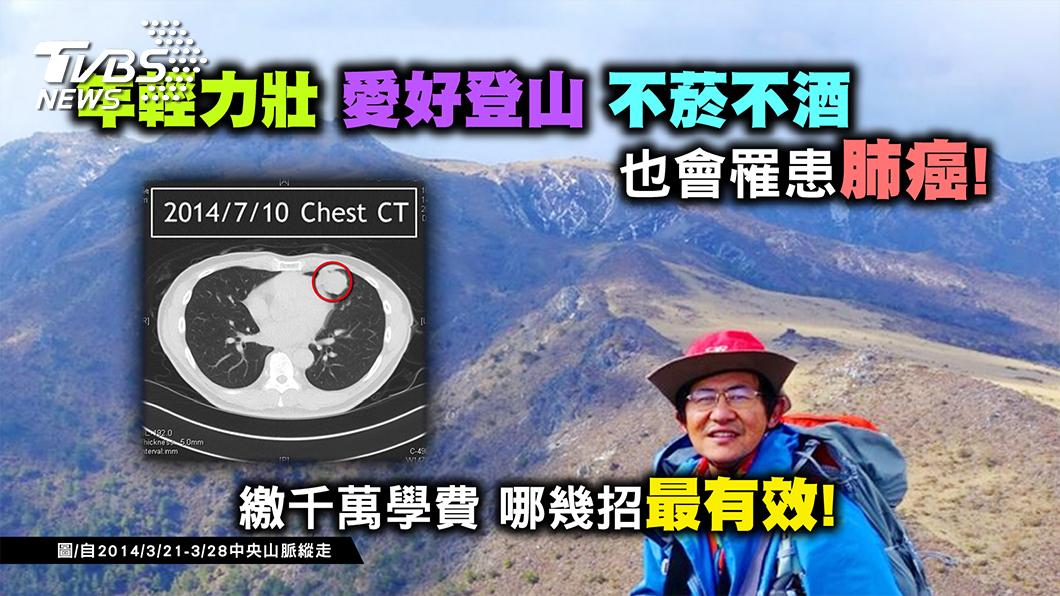 圖/TVBS提供 抗癌不靠運氣 多做這件事 肺癌提早現形!