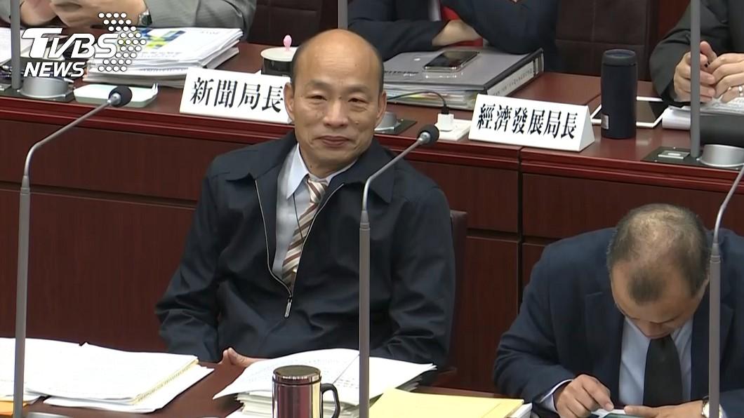 高雄市長韓國瑜。圖/TVBS 韓國瑜正式表態! 再重申:2020不在計畫內