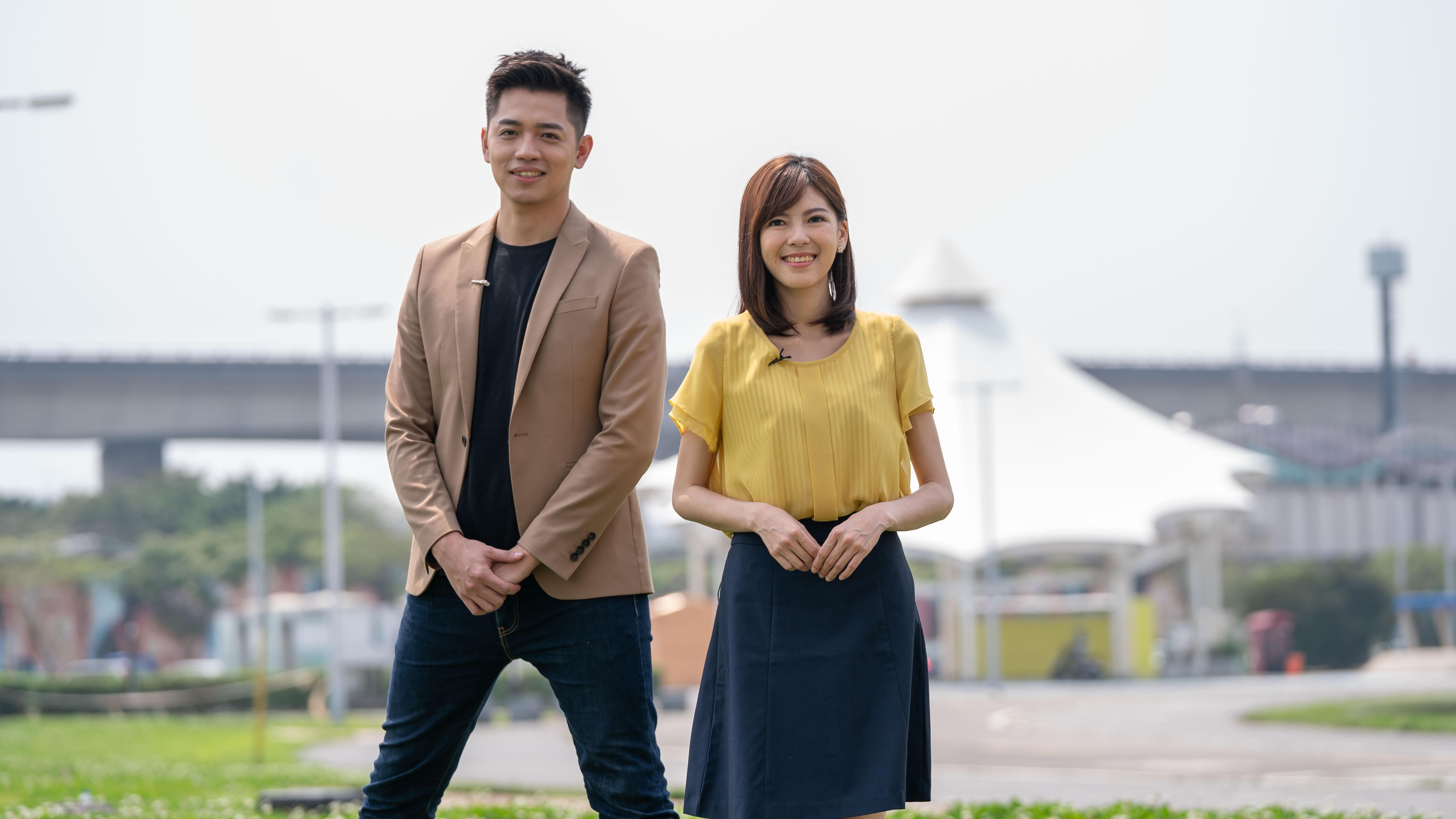 TVBS晨間新聞「早安台灣」由彭志宇和錢麗如搭檔,以雙主播的方式,為觀眾開啟美好的一天。 TVBS新聞台「早安台灣」 高顏值雙主播登場