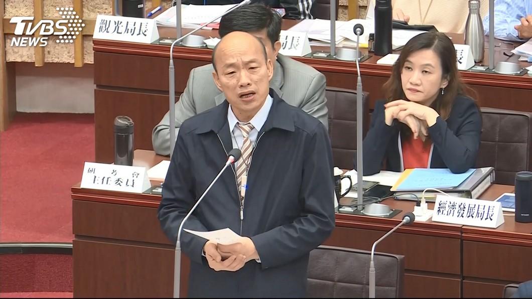 圖/TVBS 被問高雄何時成首富? 韓國瑜推需有這兩條件