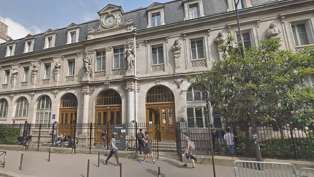 圖/翻攝自Google Map網站 巴黎台灣留學生宿舍上吊 室友驚見他「掛床邊」身亡