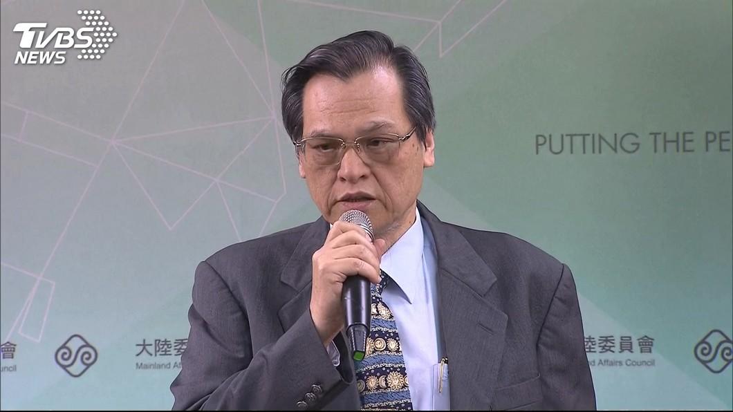 陸委會主委陳明通。圖/TVBS 「禽獸說」惹議 張善政:民進黨得不到高雄就要毀了它