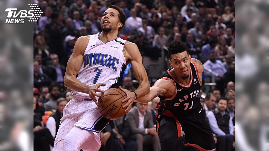 圖/達志影像路透社 葛林飆29分 NBA暴龍破解魔術笑納4連勝