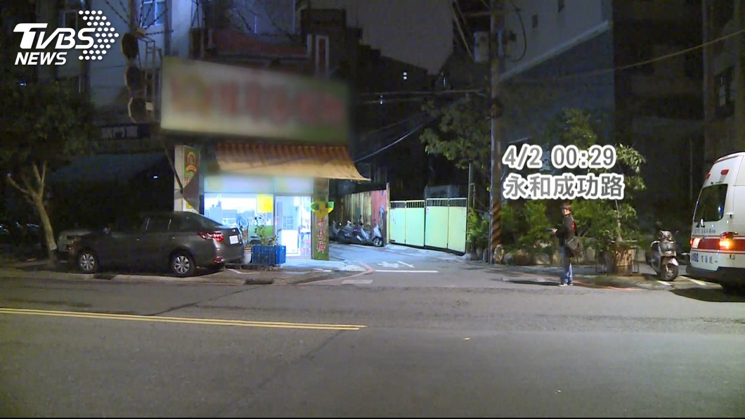 圖/TVBS 遭砍殺又潑腐蝕液體 男重傷倒臥家中