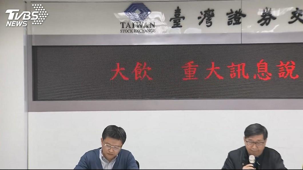圖/TVBS 蘋果西打公司大飲二次重訊 財報疑慮仍說不清