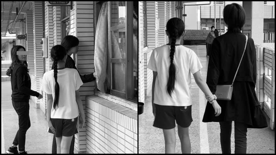 台南一名母親不捨女兒遭霸凌,衝到學校討公道。圖/爆料公社