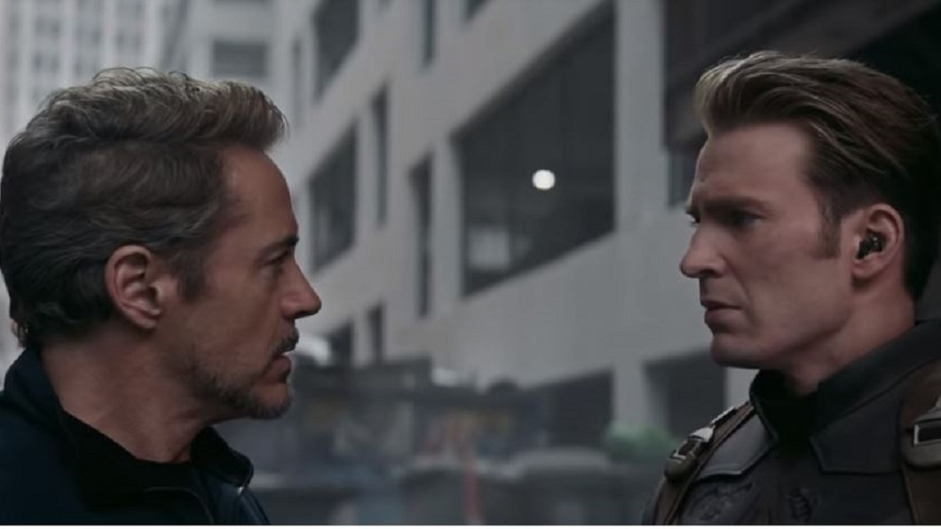圖/翻攝自 MarvelTW YouTube 「復仇4」預告! 鋼鐵人、美國隊長握手言和