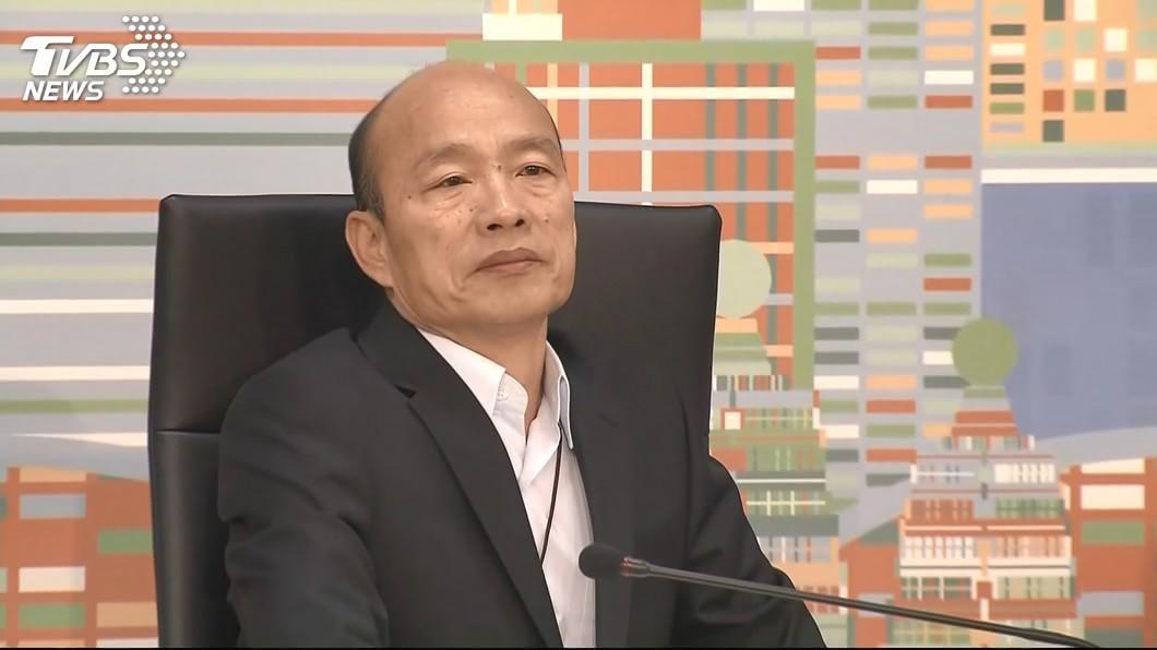 高雄市長韓國瑜。圖/TVBS資料畫面 韓國瑜再批「假韓粉」 爆氣連3罵:X種、雜X、器官小