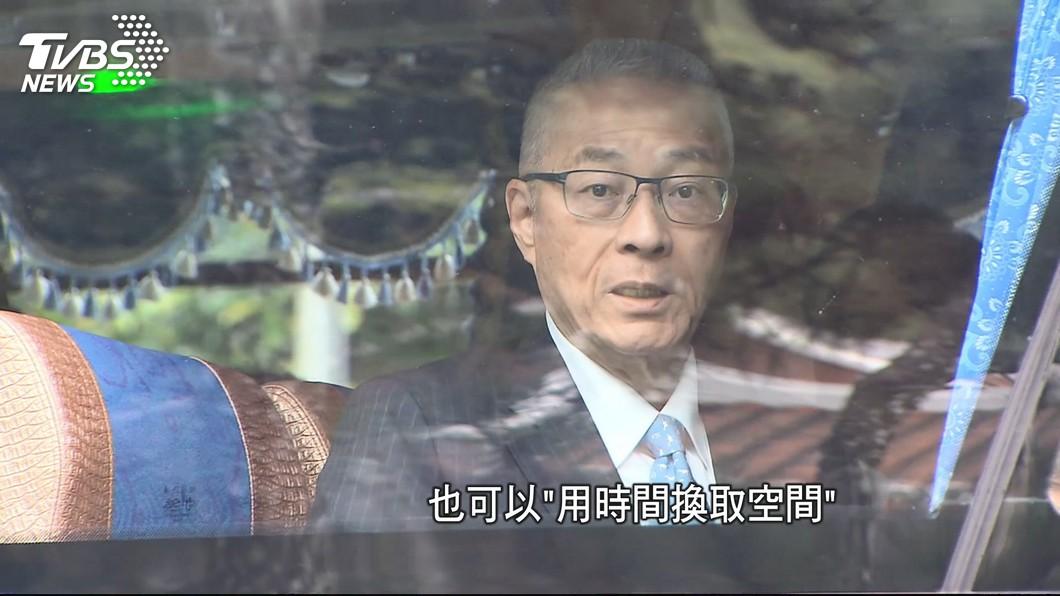 圖/TVBS 吳韓會事緩則圓 朱王展高度 釋協調善意