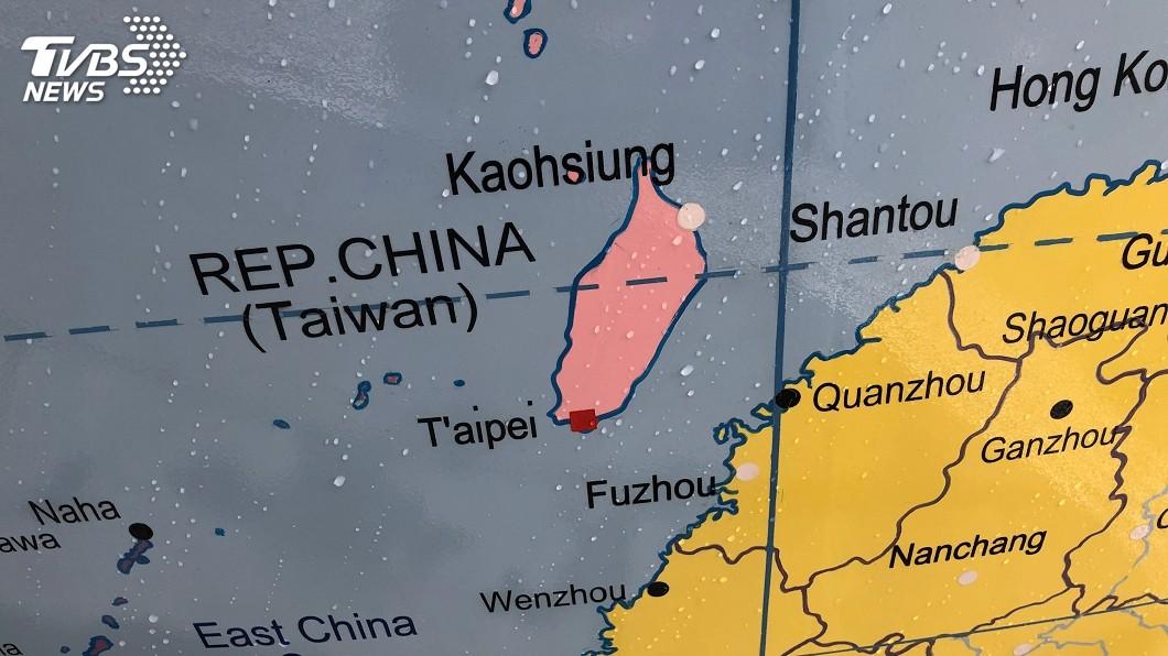 圖/中央社 LSE公共藝術將把台灣劃為中國 外交部抗議