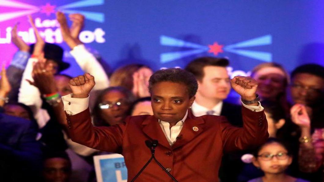 圖/達志影像路透 創造歷史!芝加哥首位非裔女性同志市長