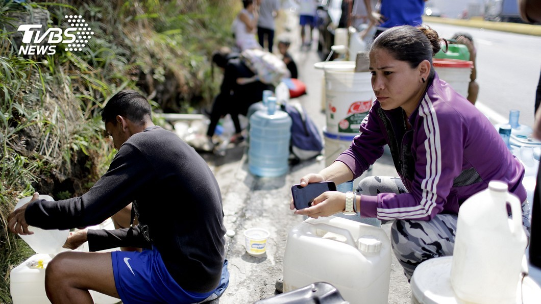 圖/達志影像美聯社 快變下一個敘利亞! 委內瑞拉300萬人逃亡