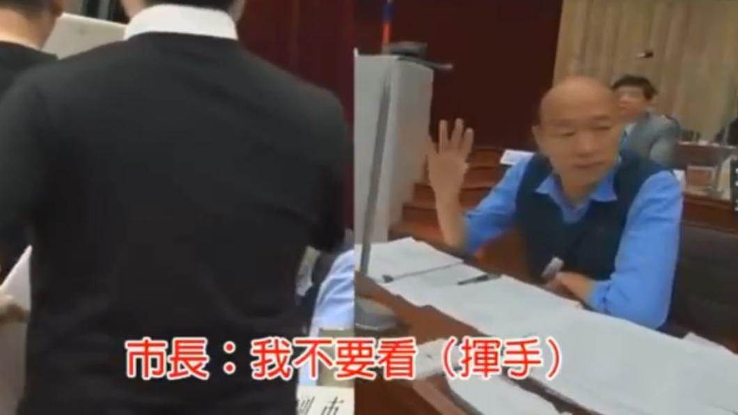 翻攝自/高雄歹過日 臉書 議員遞「2歲孩母親的公開信」韓國瑜拒收 信件全文曝光
